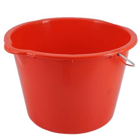 baueimer 20 liter baueimer 20 liter rot mit metallb 252 gel eimer welt de