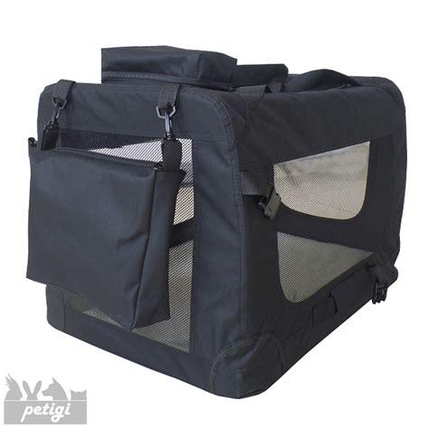 box auto pieghevole trasportino borsa per box gabbia pieghevole auto 7