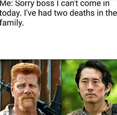 Walking Dead Glenn Meme - these walking dead memes will make you laugh your guts out