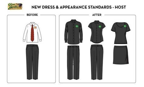 Olive Garden Attire by Olive Garden Unveils Modern Uniforms Servers Rejoice