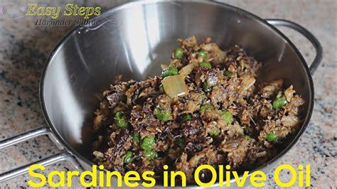 fast recipe   cook sardines  olive oil tasty brunswick sardines recipe youtube