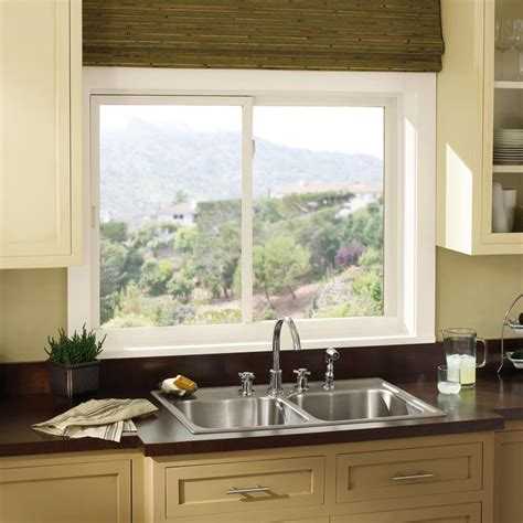 window above kitchen sink ultrex glider above kitchen sink marvin photo
