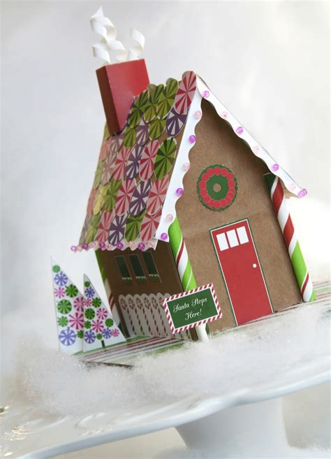 1000+ Images About Gingerbread House Printable Template