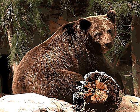 bear paint  number kritters   mailbox bear