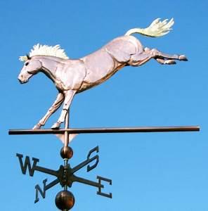 Horse Weathervane Bucking Bronco - West Coast Weathervanes