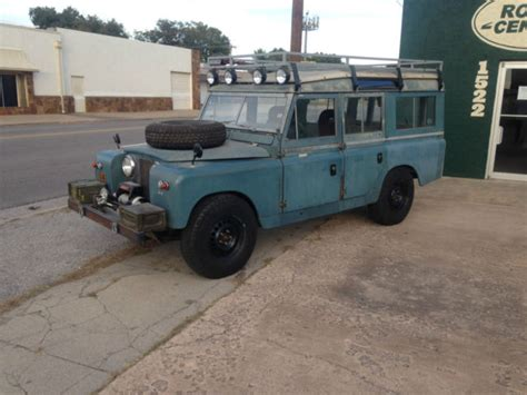 1967 land rover series iia 109 defender 110 chevy drivetrain conversion for sale