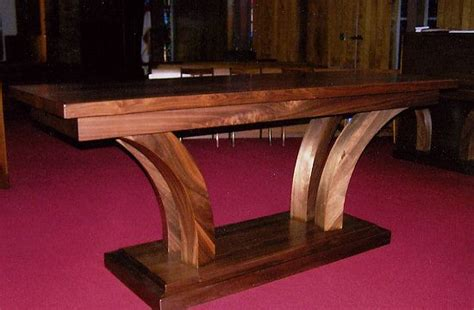 custom built altar church interior design