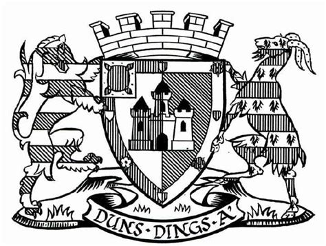 Coat Of Arms (crest) Of Duns