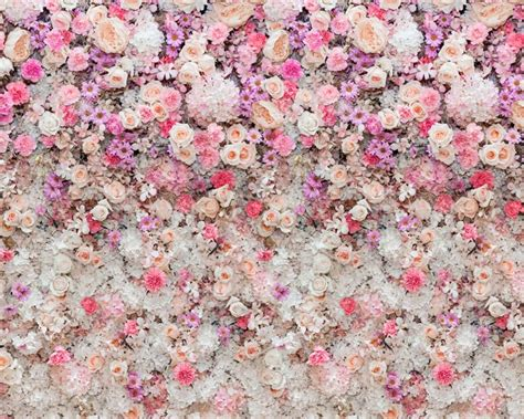 fabric panel wall flower wall photography backdrop