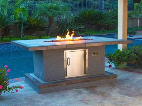 bar height patio table with fire pit bar height fire pit table