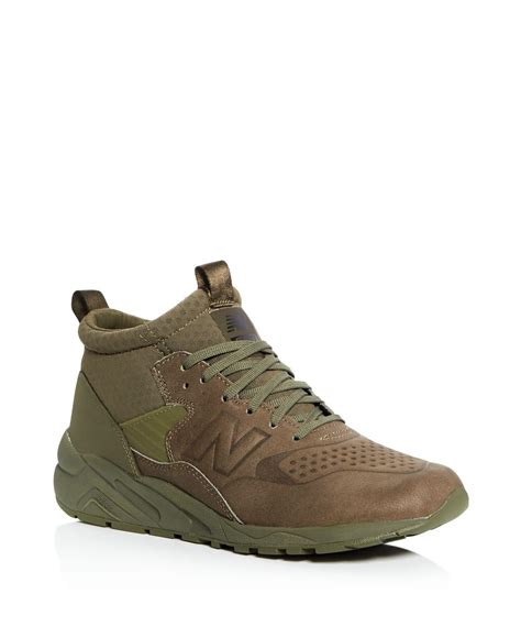 Lyst  New Balance 580 Mid Top Sneaker Boots In Green For Men