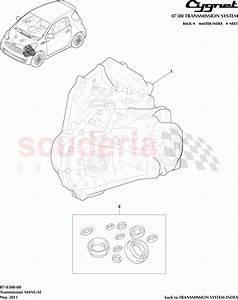 Aston Martin Cygnet Transmission Manual Parts