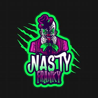 Gaming Awesome Logos Clown Character Placeit
