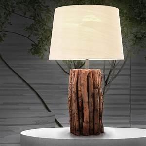 Lampen Aus Holz : moderne tischleuchten als inspiration f r ihre zimmereinrichtung ~ Markanthonyermac.com Haus und Dekorationen