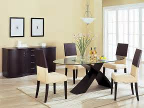 wood dining room sets modern dining room with wooden table set and chest interior design