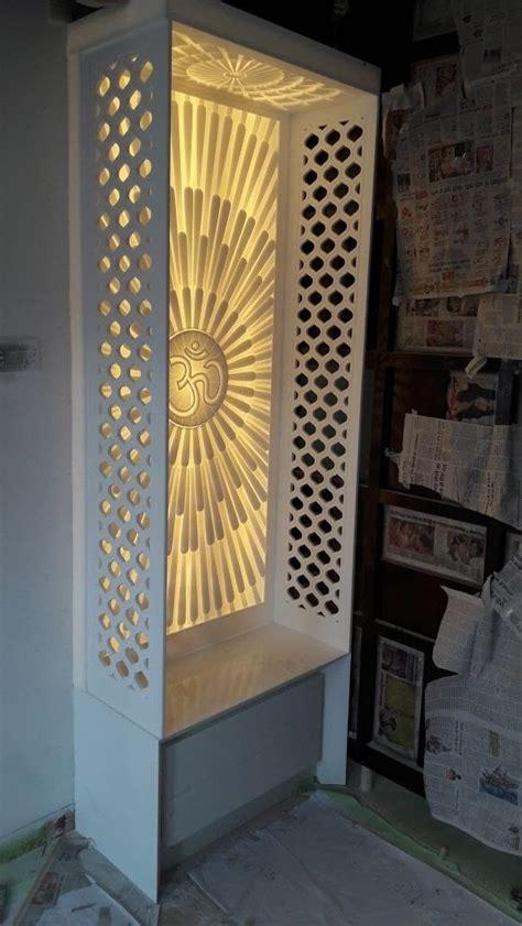om design  corian room door design pooja room door design room partition designs