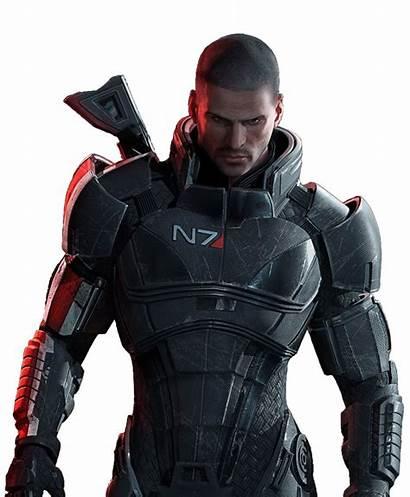 Mass Effect Shepard Render Commander Renders September