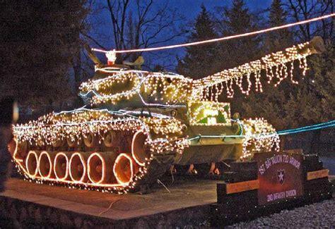 christmas decoration tank