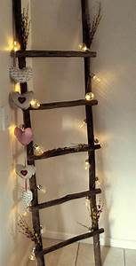 Decorated, Wooden, Ladder