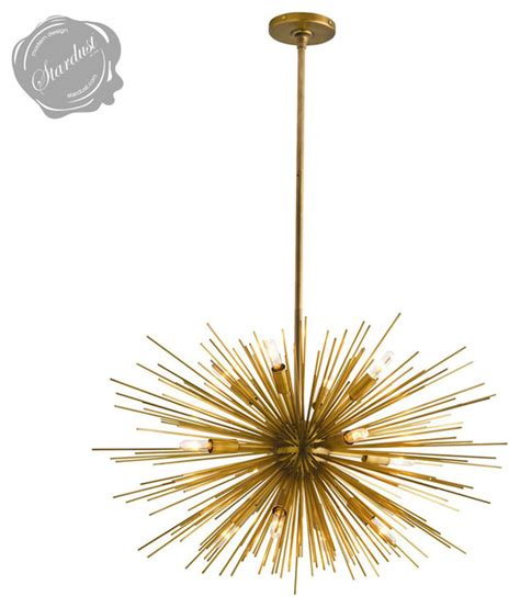 mid century modern sputnik satellite chandelier from