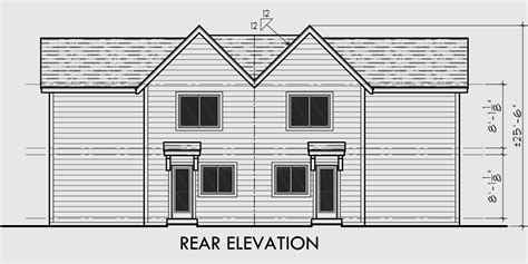 duplex floor plans for narrow lots small duplex plans for narrow lots studio design