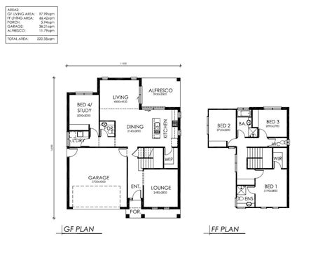 housing blueprints 100 free australian house designs and floor plans