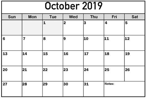 calendar  october  printable net market