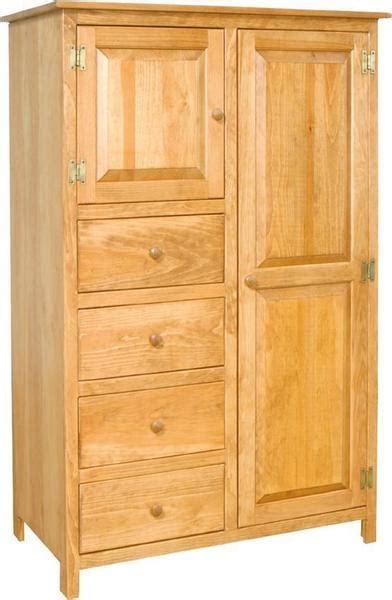 pine wardrobe armoire  dutchcrafters amish furniture