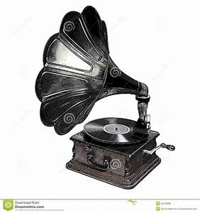 Gramophone Stock Illustration - Image: 54120896