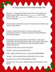 Holiday Skit Role Play Christmas and Hannukhah