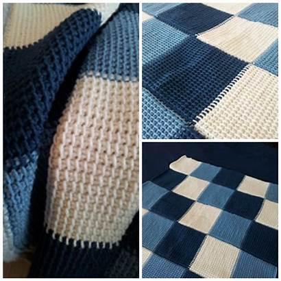 Crochet Tunisian Windsor Throw Marie Blanket Patterns