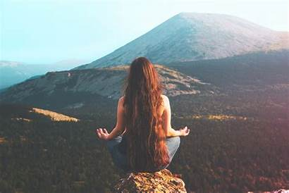 Meditation Mountains Landscape Outdoors Nature Extreme Cliff
