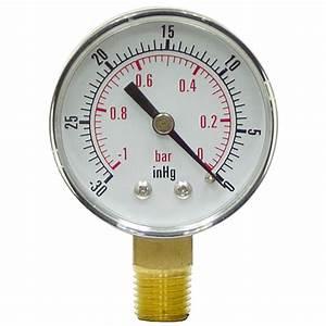 30 U0026quot  2 U0026quot  Dry Vacuum Gauge Lm
