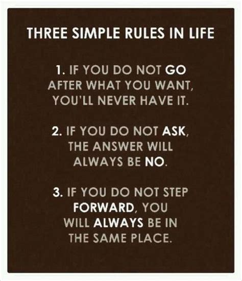Three Simple Rules In Life  Bits Of Wisdom