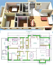 Raised Ranch House Floor Plans
