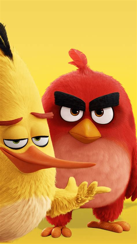 angry birds hd wallpaper   mobile phone