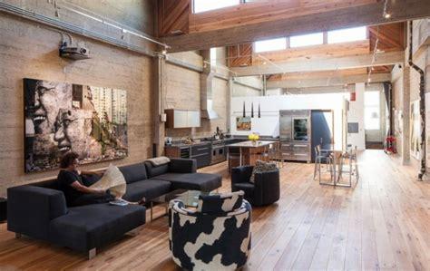 Wohnen Im Loft Stil by 33 Einrichtungsideen Mit R 246 Hren Im Coolen Industrial Style