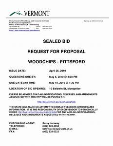sealed bid request for proposal With request for bids template