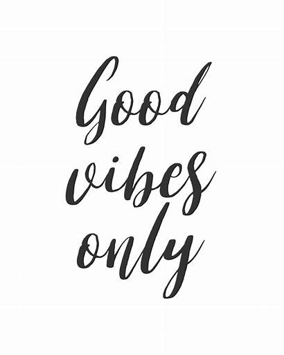 Quotes Positive Inspirational Clip Vibes Clipart Quote