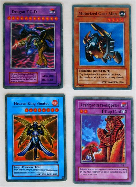 Latest templates including pendulum, link and rush are available. Fake Yu-Gi-Oh! cards from my son's card collection.   Flickr