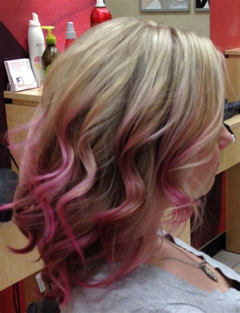 Pink Ombre Hair Haircuts Pinterest