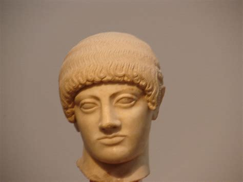 Blond Kouros's Head Of The Acropolis