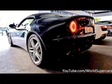 alfa romeo  competizione start revs acceleration youtube