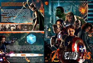 Marvel's The Avengers dvd covers (2012) R2 German