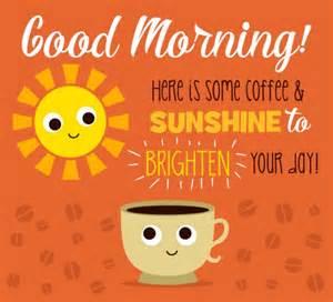 Good Morning Sunshine Coffee
