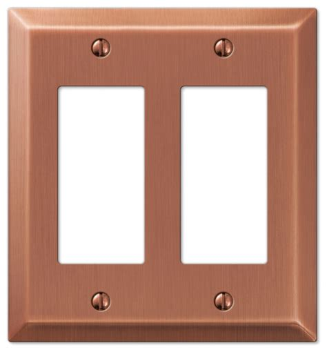 century steel 1 toggle wall plate antique century steel 2 rocker wall plate antique copper