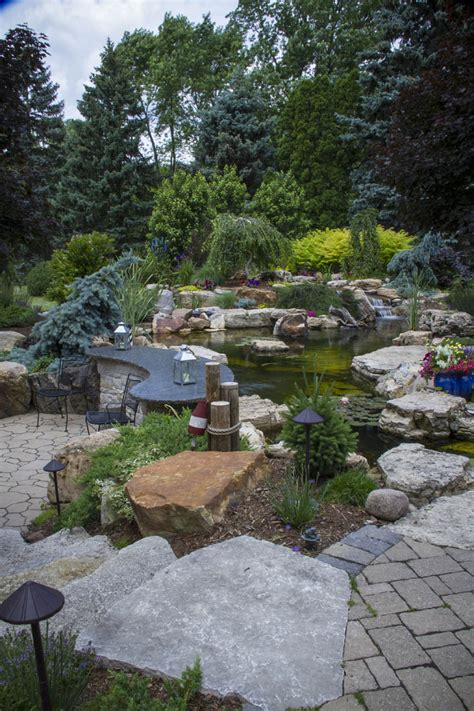 ultimate backyard oasis aquascape