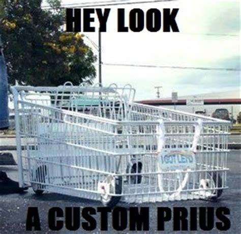 Shopping Cart Meme - prius shopping cart