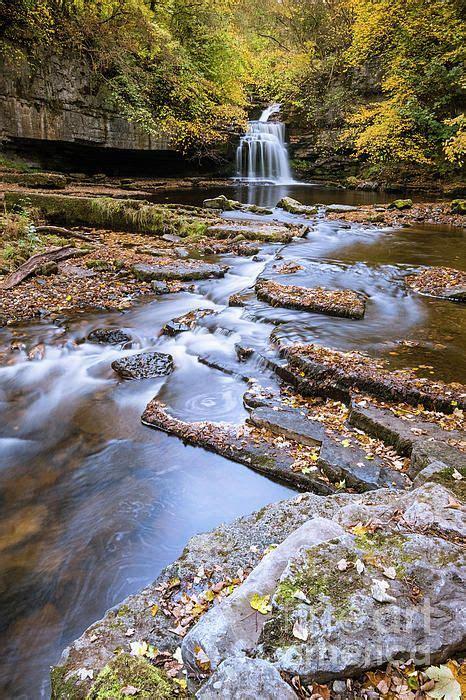 West Burton Falls, Wensleydale, Yorkshire Dales, UK by ...