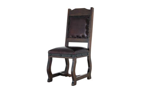 rustic leather dining chair dining leather chair rustic